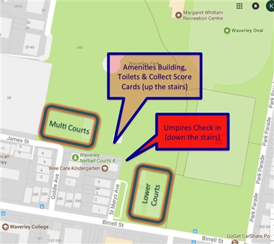Easts  Court  Map